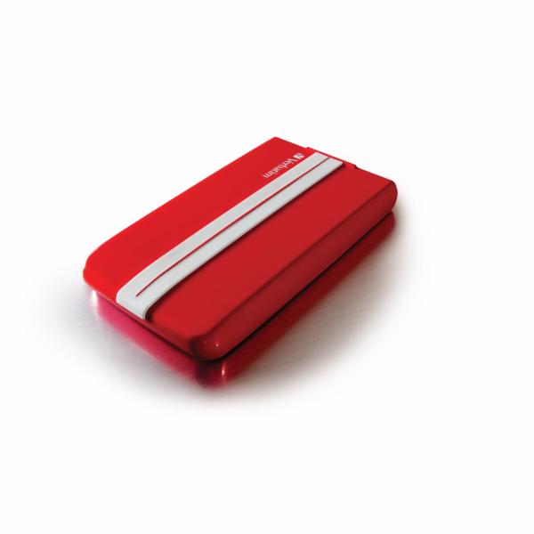 """VERBATIM HDD 2.5"""" 1TB GT SUPERSPEED USB 3.0 červená/bílá"""