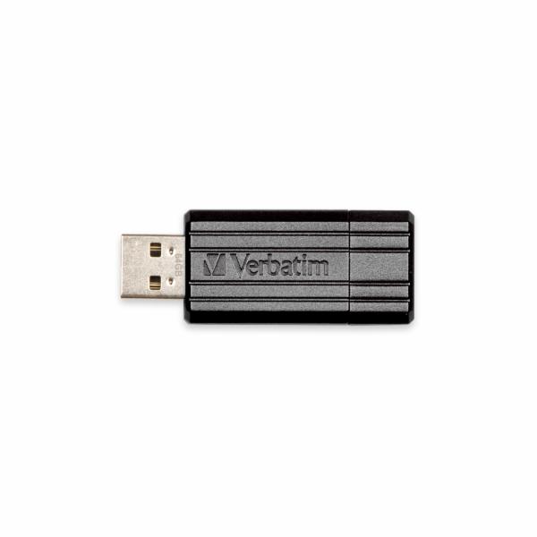Verbatim Store 'n' Go PinStripe, 128GB, černá