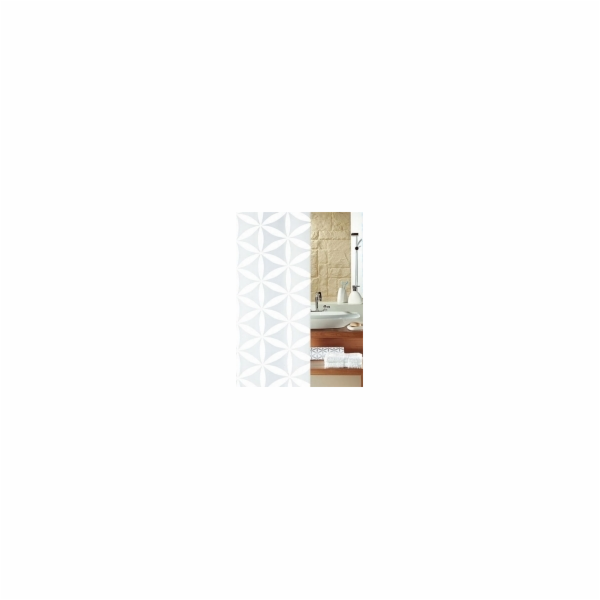 Sprchový závěs RANIA WHITE 180x200