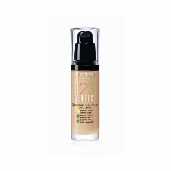 Make-up Bourjois Paris 123 Perfect Foundation 16 Hour 30ml 51 Light Vanilla