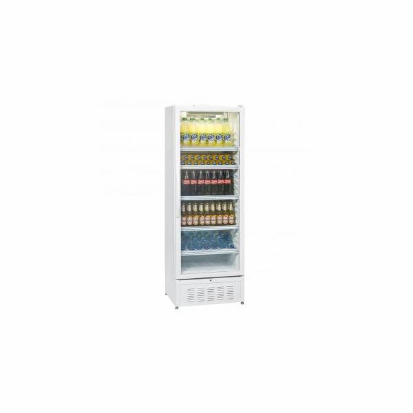 Exquisit BC 1001 vitrína (skleněné dveře lednice, 440L, osvětlení)