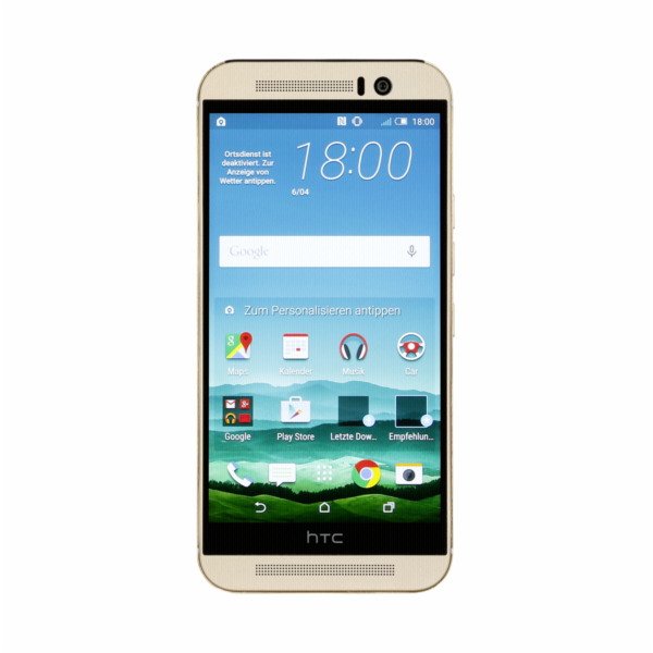 HTC One (M9) gold on gold 32GB