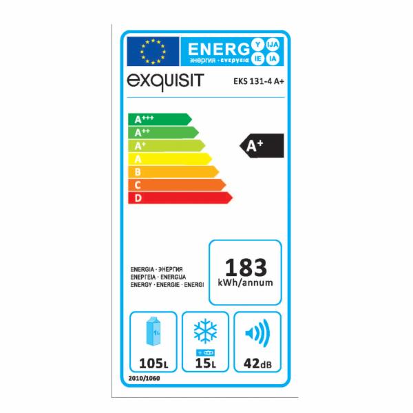 Chladnička vestavěná Exquisit EKS 131-3-040F