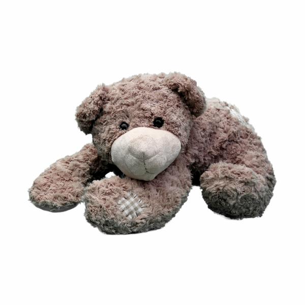 Medvídek plyšový ležící 50 cm