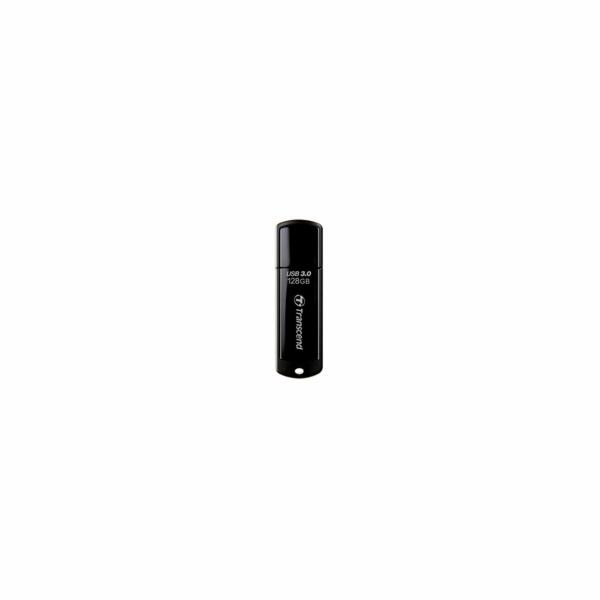 TRANSCEND USB Flash Disk JetFlash®700, 128GB, USB 3.0, Black (R/W 90/40 MB/s)