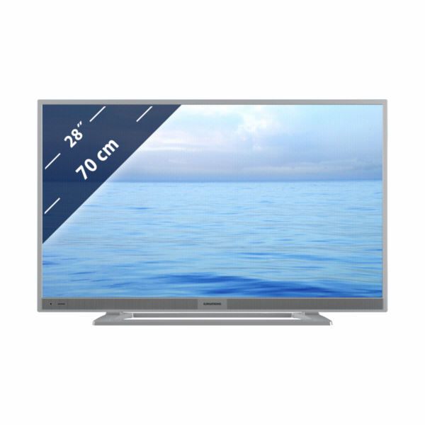 Plazma TV Grundig 28 VLE 5500 SG stribrna