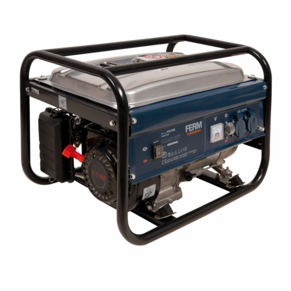 Ferm elektrocentrály, vzduchem chlazený 6.5HP 2000W - PGM1008