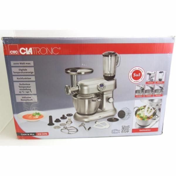 BAZAR- Kuchyňský robot Clatronic KM 3476