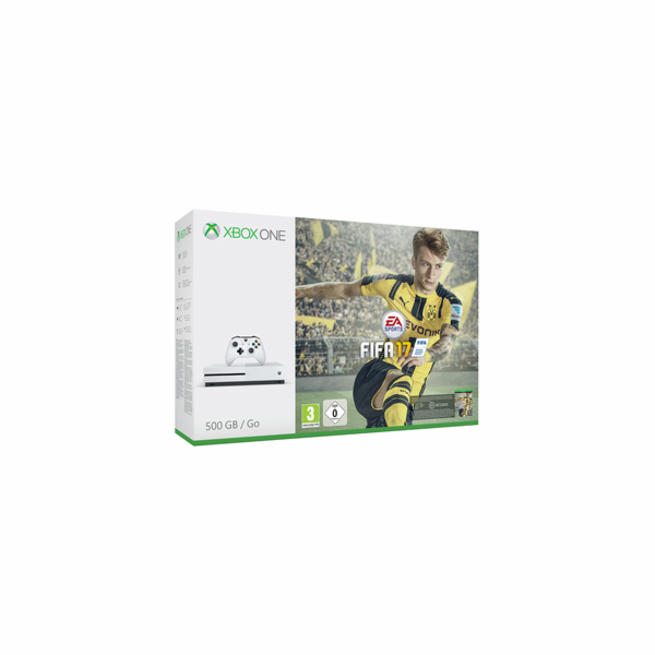 XBOX ONE S 500GB white + FIFA 17