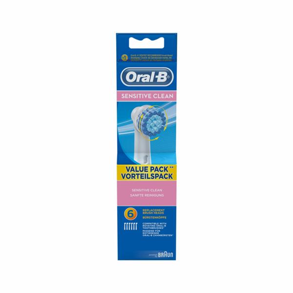 Náhradní kartáčky Braun Oral B Sensitive 6 ks
