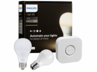 Philips Hue LED Bulb E27 Starter Set white