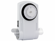 REV Mecanical Timer 2-fold white