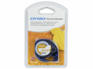 Dymo Letratag Iron-on tape white 12mm x 2 m           18768