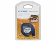 Dymo Letratag Metallic tape silver 12mm x 4 m          91228