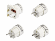 Hama  Universal II  Travel Adapter Plug Set, 4 pieces